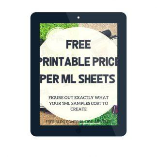 PRINTABLE PRICE PER DROP_1ML SHEETS