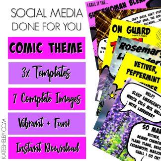 Comic Pop Pack