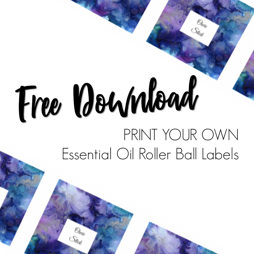 Free Essential Oil Printable Bottle Labels Kate Shelby