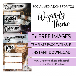 Wizardry Themed Blend Images